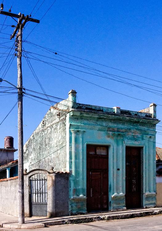 House in Cardenas, Matanzas, Cuba.