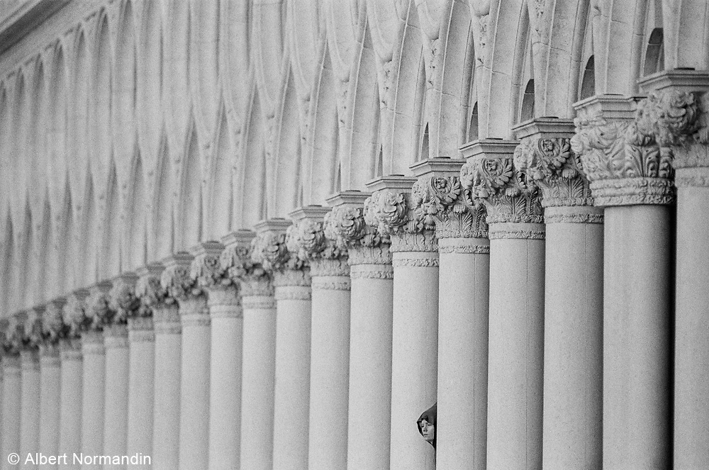 Woman and Long Line of Columns, November 1999