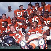 Hurricanes Football Senior Photos