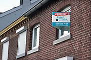 Nederland, Maastricht, 20-5-2012Dit huis is ondanks de malaise op de woningmarkt verkocht.Foto: Flip Franssen/Hollandse Hoogte