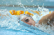 Melissa Ingram (NZ) 100m freestyle heats<br />2006 Telstra Commonwealth Games<br />Swimming Trials,  January 31st<br />Melbourne Sports & Aquatics Centre <br />© Sport the library/Jeff Crow