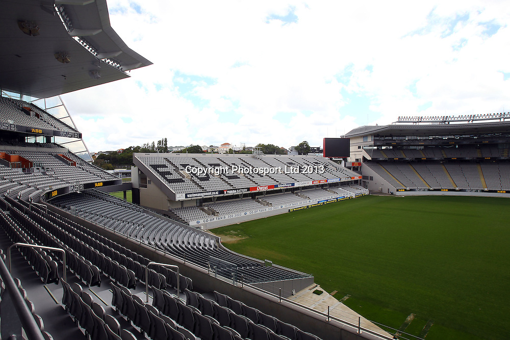 Eden Park General View, NRL Nines Stakeholder meeting ahead of the Auckland 2014 rugby league event. Eden Park, Auckland. 29 October 2013. Photo: William Booth/photosport.co.nz