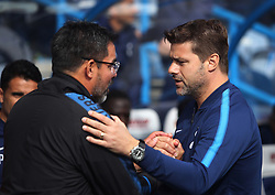 Huddersfield Town manager David Wagner (L) and Tottenham Hotspur manager Mauricio Pochettino - Mandatory by-line: Jack Phillips/JMP - 30/09/2017 - FOOTBALL - The John Smith's Stadium - Huddersfield, England - Huddersfield Town v Tottenham Hotspur - English Premier League