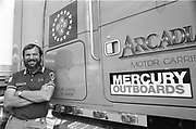 Jim Hauenstein was one of the good guys of he sport. For Many years he successfully campaigned what at the time was called a Champ Boat and also ran an unlimited that was powered by a eight Mercury Outboard engiones/