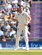 James Anderson of England during the 4th day of the 4th SpecSavers International Test Match 2018 match between England and India at the Ageas Bowl, Southampton, United Kingdom on 2 September 2018.