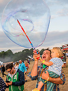 Henham Park, Suffolk, 18 July 2019. Bubbles inc is back - The 2019 Latitude Festival.