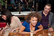RONNI ANCONA; NADIA SAWALHA; DEAN SWIFT; The aftershow party for PYGMALION. National Gallery Gallery CafŽ, London.  May 25, 2011,<br /> <br /> <br /> <br />  , -DO NOT ARCHIVE  Copyright Photograph by Dafydd Jones. 248 Clapham Rd. London SW9 0PZ. Tel 0207 820 0771. www.dafjones.com.<br /> RONNI ANCONA; NADIA SAWALHA; DEAN SWIFT; The aftershow party for PYGMALION. National Gallery Gallery Café, London.  May 25, 2011,<br /> <br /> <br /> <br />  , -DO NOT ARCHIVE  Copyright Photograph by Dafydd Jones. 248 Clapham Rd. London SW9 0PZ. Tel 0207 820 0771. www.dafjones.com.