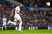 Leeds United defender Liam Cooper (6) passes the ball during the EFL Sky Bet Championship match between Leeds United and Brentford at Elland Road, Leeds, England on 21 August 2019.