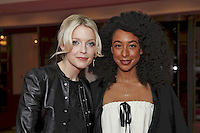 Lauren Laverne with Corinne Bailey Rae