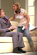 TRIMMER POST REHAB PATSY KENSIT IN THE PLAY SEE YOU NEXT TUESDAY AT THE ALBERY THEATRE ST MARTIN'S LANE LONDON.PIC JAYNE RUSSELL .12th NOVEMBER 2003.          .© Jayne Russell.
