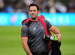 Jim Allenby of Somerset looks on.  - Mandatory by-line: Alex Davidson/JMP - 15/07/2016 - CRICKET - Cooper Associates County Ground - Taunton, United Kingdom - Somerset v Middlesex - NatWest T20 Blast