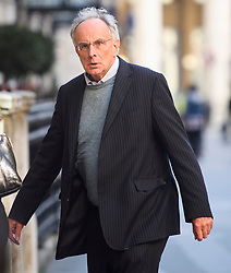 © Licensed to London News Pictures. 24/09/2018. London, UK.  PETER BONE MP arrives for an Alternative Brexit event, held by the IEA (Institute of Economic Affairs) in central London. Photo credit: Ben Cawthra/LNP