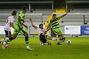 Forest Green Rovers assistant manager, Scott Lindsey makes an appearance as substitute during the Friendly match between Weston Super Mare and Forest Green Rovers at the Woodspring Stadium, Weston Super Mare, United Kingdom on 11 October 2016. Photo by Shane Healey.