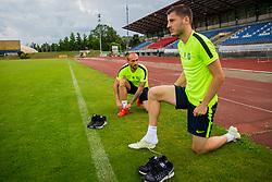 Danijel Miskic during training of NK Olimpija Ljubljana , on June 13, 2018 in Sports park Siska, Ljubljana, Ljubljana, Slovenia. Photo by Ziga Zupan / Sportida