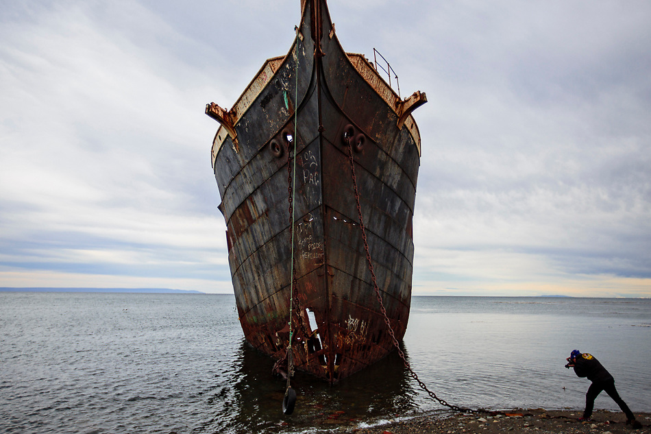 Lord Lonsdale Ship, Punta Arenas, Chile