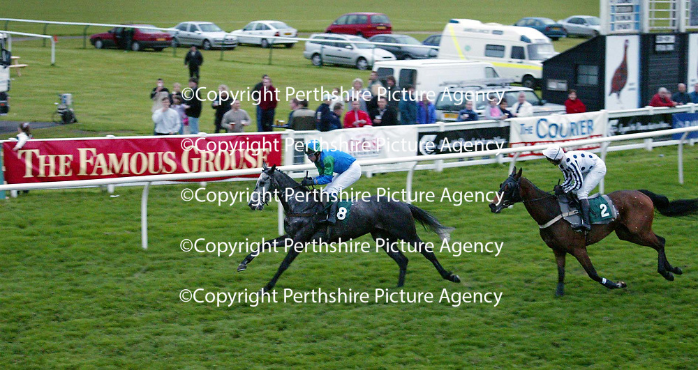 Famous Grouse day at the races..15.05.02<br /><br /><br />For details please contact Emrys Inker at the Edrington Group on 01738 493781<br /><br />Pic by Graeme Hart<br />Copyright Perthshire Picture Agency<br />Tel: 01738 623350 / 07990 594431
