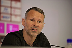 OSIJEK, CROATIA - Friday, June 7, 2019: Wales' manager Ryan Giggs during a pre-match press conference at Stadion Gradski vrt ahead of the UEFA Euro 2020 Qualifying Group E match against Croatia. (Pic by David Rawcliffe/Propaganda)