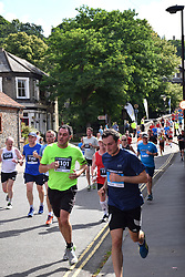 Norwich UK. 6th August 2017. 4700 people took part in the annual Run Norwich 10k road race organised by Norwich City FC Community Sports Foundation.