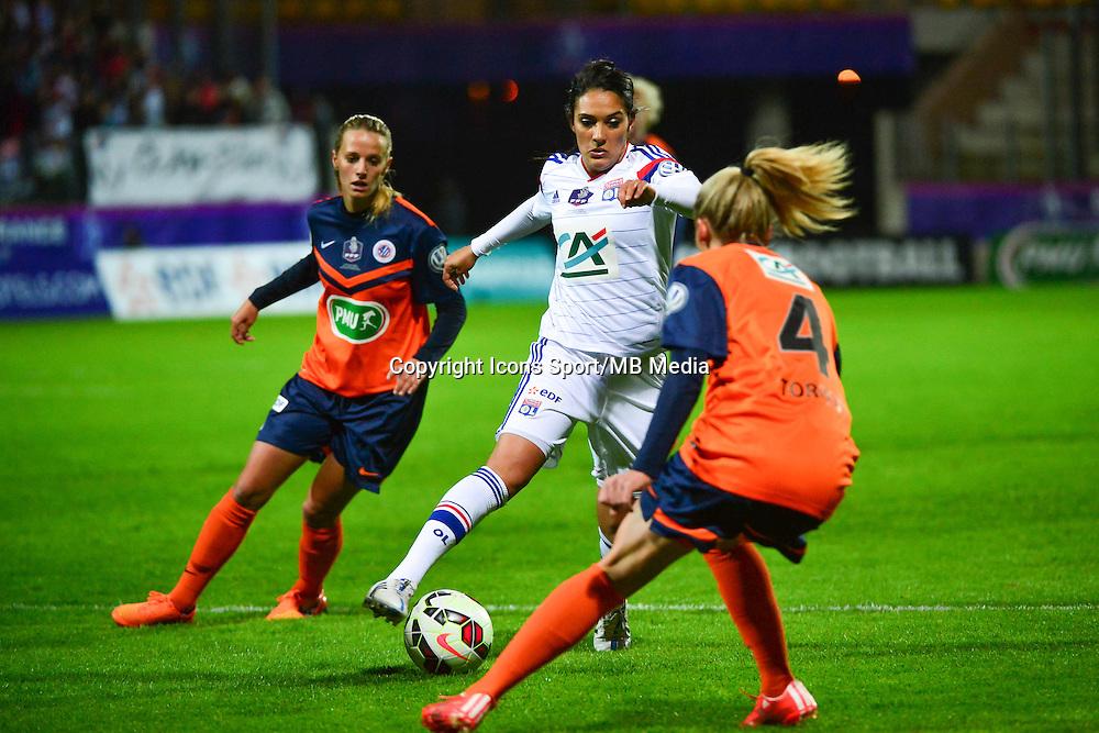Louisa NECIB - 18.04.2015 - Montpellier / Lyon - Finale Coupe de France -Calais<br />Photo : Dave Winter / Icon Sport