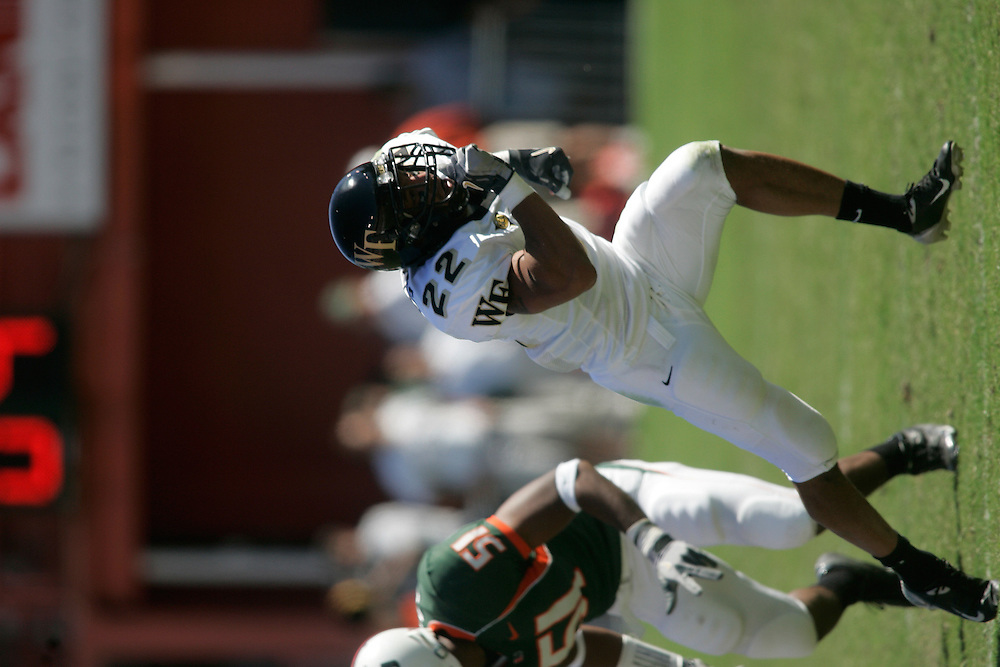 2004 WAKE FOREST UNIVERSITY Football @ Miami