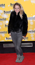 Hannah Spearritt attends Beautiful - The Carole King Musical at The Aldwych Theatre, The Aldwych, London on Tuesday 24 February 2015 February 2015