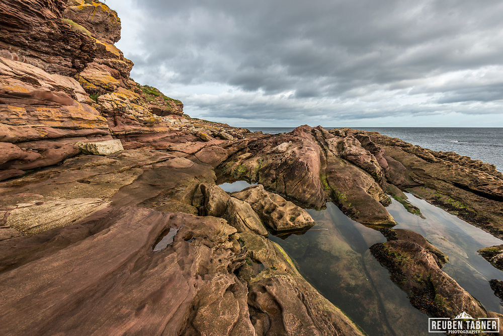 The Tarbat Ness Lighthouse is located at the North West tip of the Tarbat Ness peninsula near the fishing village of Portmahomack on the east coast of Scotland.