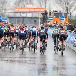 12-01-2020: Wielrennen: NK Veldrijden: Rucphen<br />start vvrouwen U23