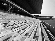 27/05/1959<br /> 05/27/1959<br /> 27 May 1959<br /> New Hogan stand at Croke Park, Dublin prior to opening on the 7th June. A view of the new stand and seat numbers.