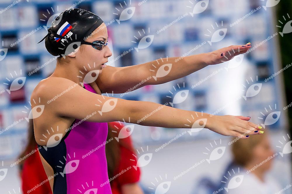 Buinaia Vasilissa RUS<br /> 50 Freestyle Women Heats<br /> LEN 43rd Arena European Junior Swimming Championships<br /> Hodmezovasarhely, Hungary <br /> Day04 09-07-2016<br /> Photo Andrea Masini/Deepbluemedia/Insidefoto