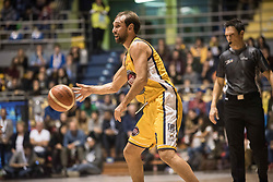 November 12, 2017 - Turin, Piemonte/Torino, Italy - Giuseppe Poeta (Fiat Torino Auxilium) during the Basketball match, Serie A: Fiat Torino Auxilium vs Vanoli Cremona. Torino wins 88-80 at Pala Ruffini in Turin 12th november 2017 Photo by Alberto Gandolfo/Pacific Press) (Credit Image: © Alberto Gandolfo/Pacific Press via ZUMA Wire)