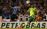 20120527: PORTO ALEGRE, RS, BRAZIL -Player Luan  of  S.E. Palmeiras and Gabriel from Gremio during Palmeiras Vs Gremio FPA team match for Brazilian Championship. <br />
