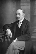 Thomas Hardy (1840-1928) British novelist and poet. Photograph from 'The Cabinet Portrait Gallery', London, 1890-94. Woodburytype