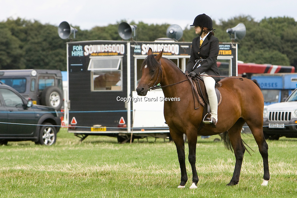 Woolley Horse Show 2009