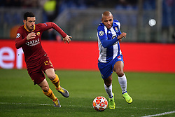 12.02.2019, Stadio Olimpico, Rom, ITA, UEFA CL, AS Roma vs FC Porto, Achtelfinale, Hinspiel, im Bild brahimi, brahimi during the UEFA Champions League round of 16, 1st leg match between AS Roma and FC Porto at the Stadio Olimpico in Rom, Italy on 2019/02/12. EXPA Pictures © 2019, PhotoCredit: EXPA/ laPresse/ Alfredo Falcone<br /> ALFREDO<br /> <br /> *****ATTENTION - for AUT, SUI, CRO, SLO only*****