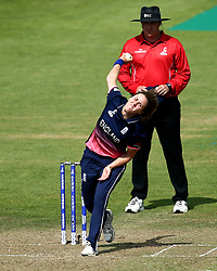 Natalie Sciver of England Women bowls - Mandatory by-line: Robbie Stephenson/JMP - 09/07/2017 - CRICKET - Bristol County Ground - Bristol, United Kingdom - England v Australia - ICC Women's World Cup match 19