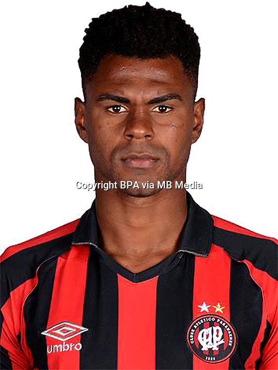 Brazilian Football League Serie A / <br /> ( Clube Atletico Paranaense ) - <br /> Wanderson Santos Pereira &quot; Wanderson &quot;