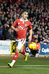 Bristol City's Joe Bryan - Photo mandatory by-line: Dougie Allward/JMP - Mobile: 07966 386802 - 17/02/2015 - SPORT - Football - Bristol - Ashton Gate - Bristol City v Peterborough United - Sky Bet League One