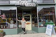 Finn Ware, butiken som s&auml;ljer allt m&ouml;jligt fr&aring;n Finland och &ouml;vriga nordiska l&auml;nder. <br /> Astoria, Oregon, USA<br /> <br /> Foto: Christina Sj&ouml;gren