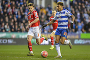 Reading FC midfielder Danny Williams on his way to score Reading's third goal during the The FA Cup fourth round match between Reading and Walsall at the Madejski Stadium, Reading, England on 30 January 2016. Photo by Mark Davies.