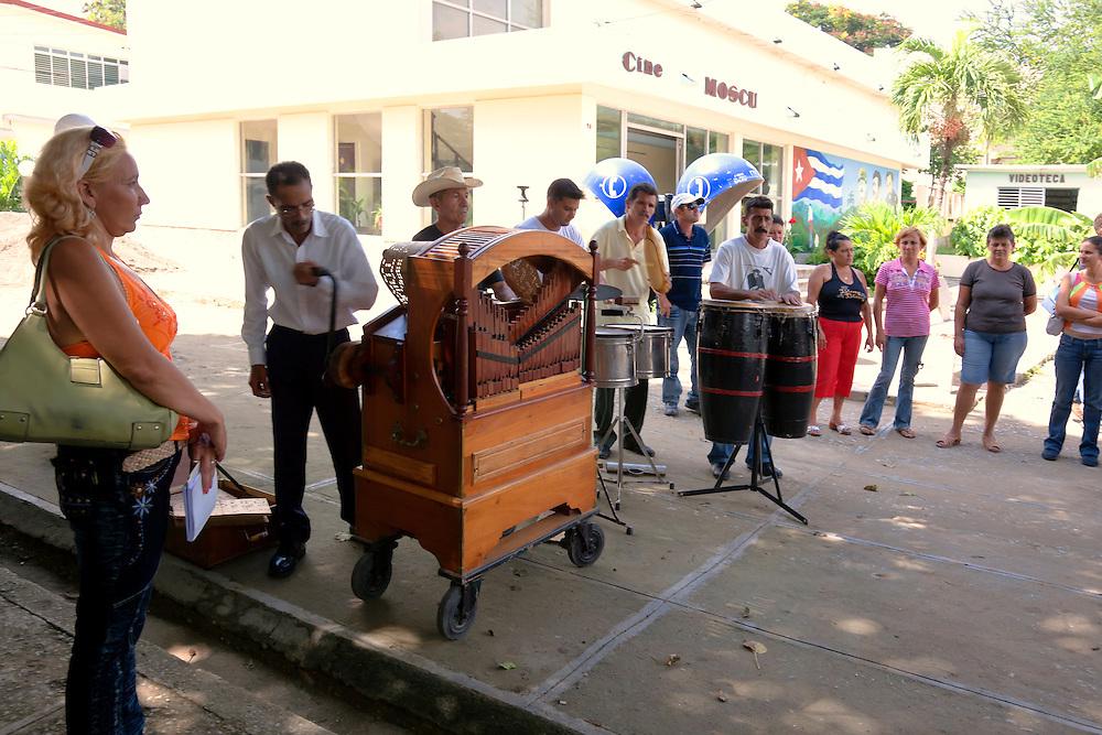 Organo oriente in Buenaventura, Holguin, Cuba.