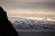 cliff face and beyond, Svalbard