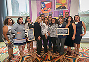 Staff from Faris ECC pose for a photograph before the Keep Houston Beautiful Mayor's Proud Partner Awards luncheon at the Hilton Americas, November 7, 2016.
