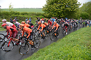 Rides take on Baggaby Hill during Stage 1 of the Tour de Yorkshire from Doncaster to Selby, Doncaster, United Kingdom on 2 May 2019.