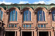 Rosengarten, Mannheim, Baden-Württemberg, Deutschland | art nouveau city hall Rosengarten, Mannheim, Baden-Wurttemberg, Germany