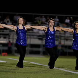 Sterlington High School Panthers varsity dance team performs during halftime of game against Oak Grove in Sterlington, Louisiana on October 1, 2009.
