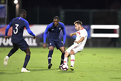 October 12, 2018 - Rouen, France - 17 YUSUF SARI (FRA) - 21 OLIVIER NTCHAM  (Credit Image: © Panoramic via ZUMA Press)