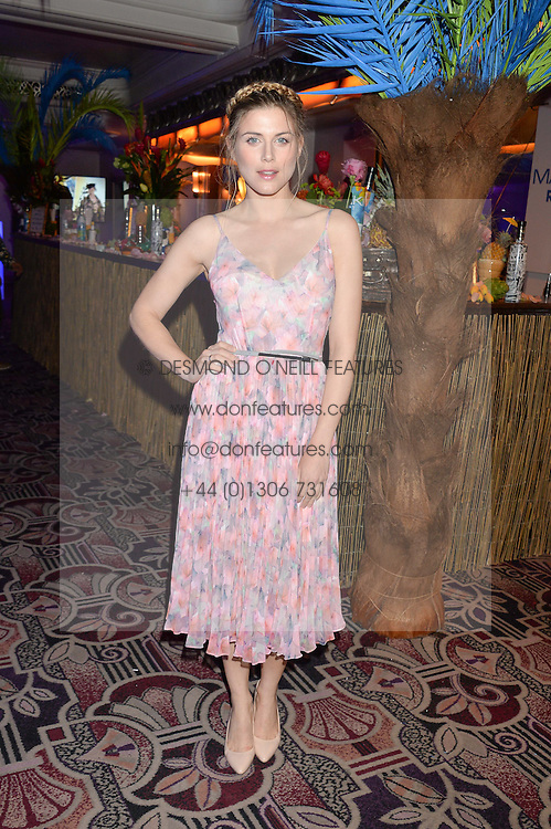 ASHLEY JAMES at the WGSN Global Fashion Awards 2015 held at The Park Lane Hotel, Piccadilly, London on 14th May 2015.