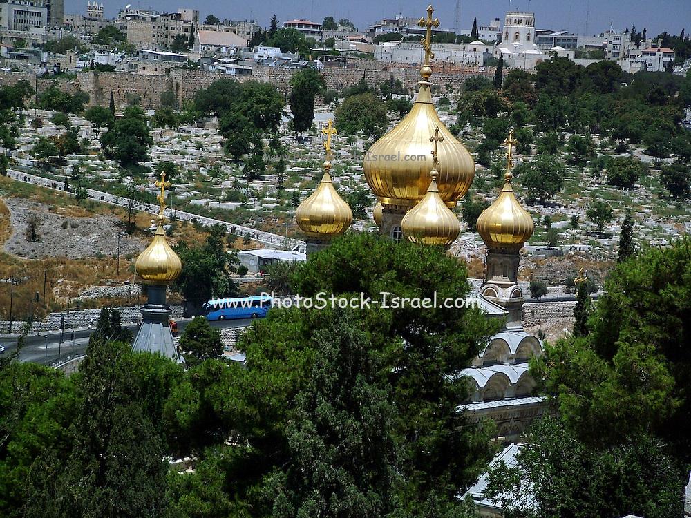 Church of Saint Mary Magdalene Jerusalem, Israel