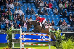 Sprehe Jorne, GER, Stakki s Jumper<br /> CHIO Aachen 2019<br /> Weltfest des Pferdesports<br /> © Hippo Foto - Stefan Lafrentz<br /> Sprehe Jorne, GER, Stakki s Jumper