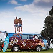 escape campervan shoot